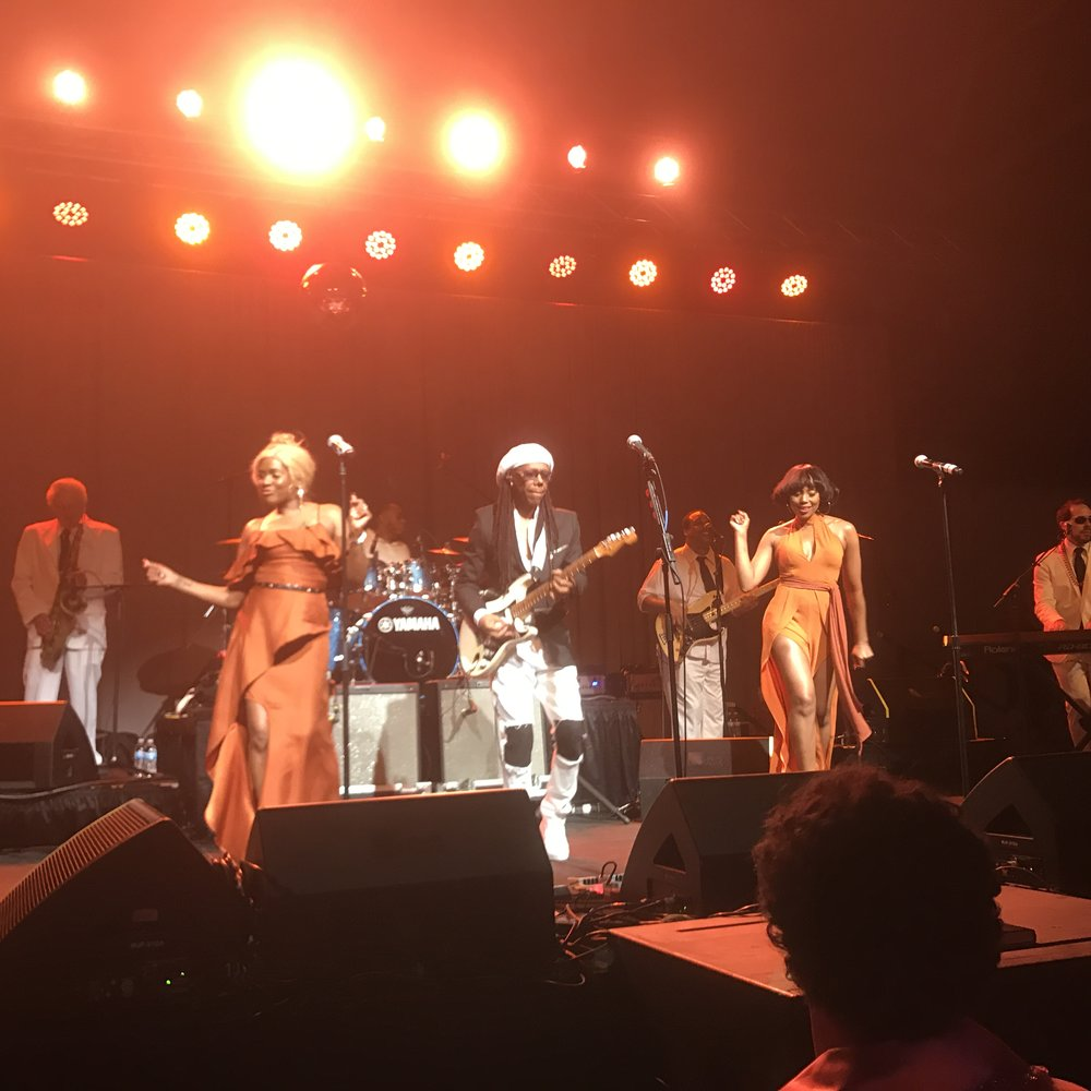 the aMUSEment after party with Nile Rodgers and Chic