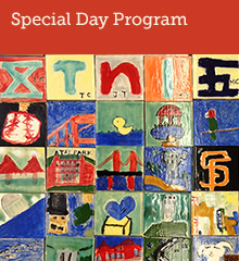 Supportive Special Day Classes at Garfield are for children with mild to moderate autism; students enrolled in the Special Day program and their families are an essential part of the Garfield community.