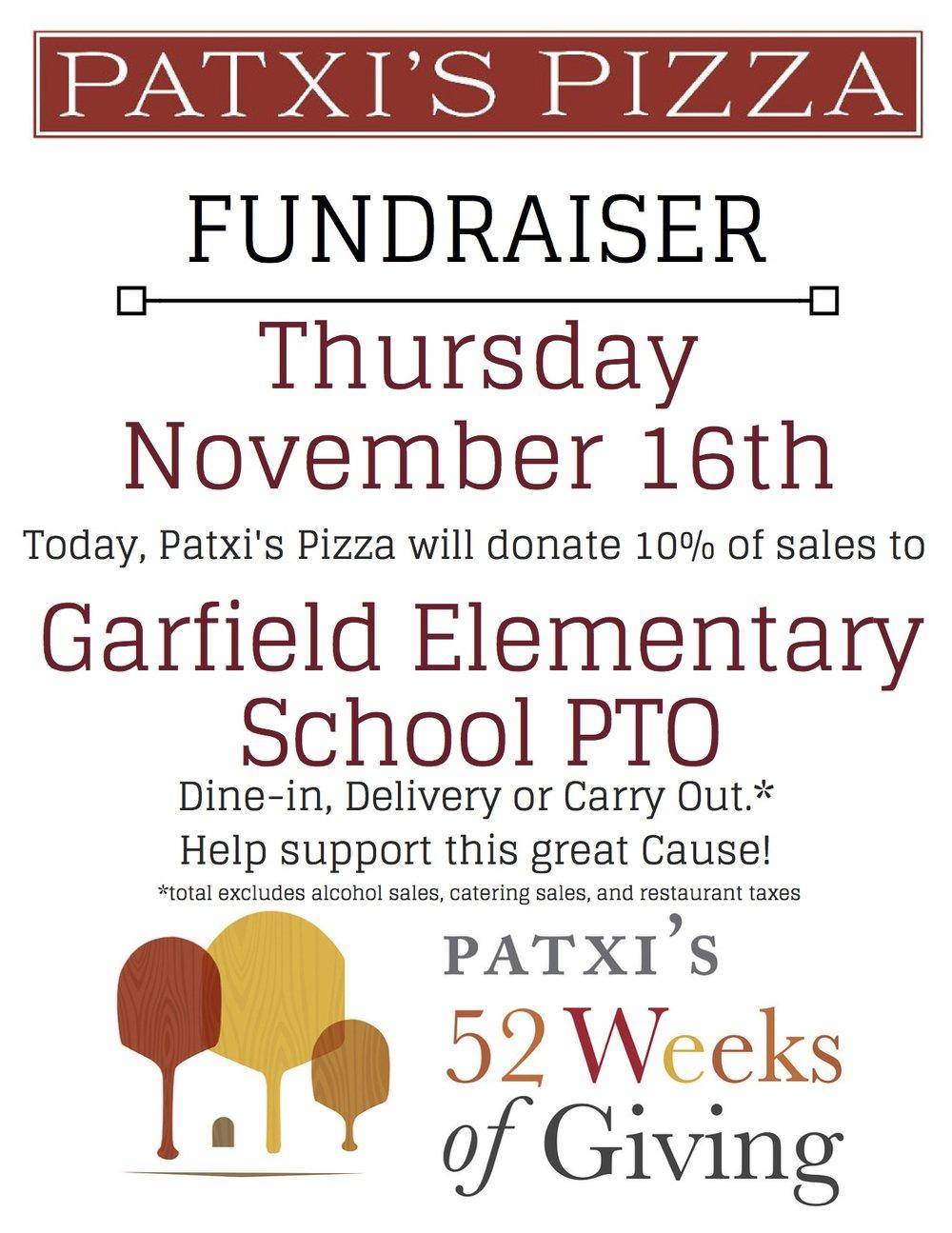 Garfield Elementary School PTO 11.16 flyer.jpg