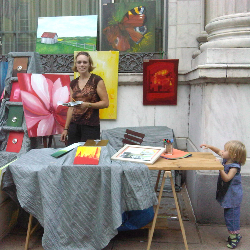 Beginning with First Fridays in 2010