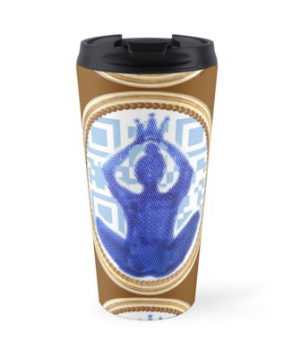 Good vibes insulated travel mug