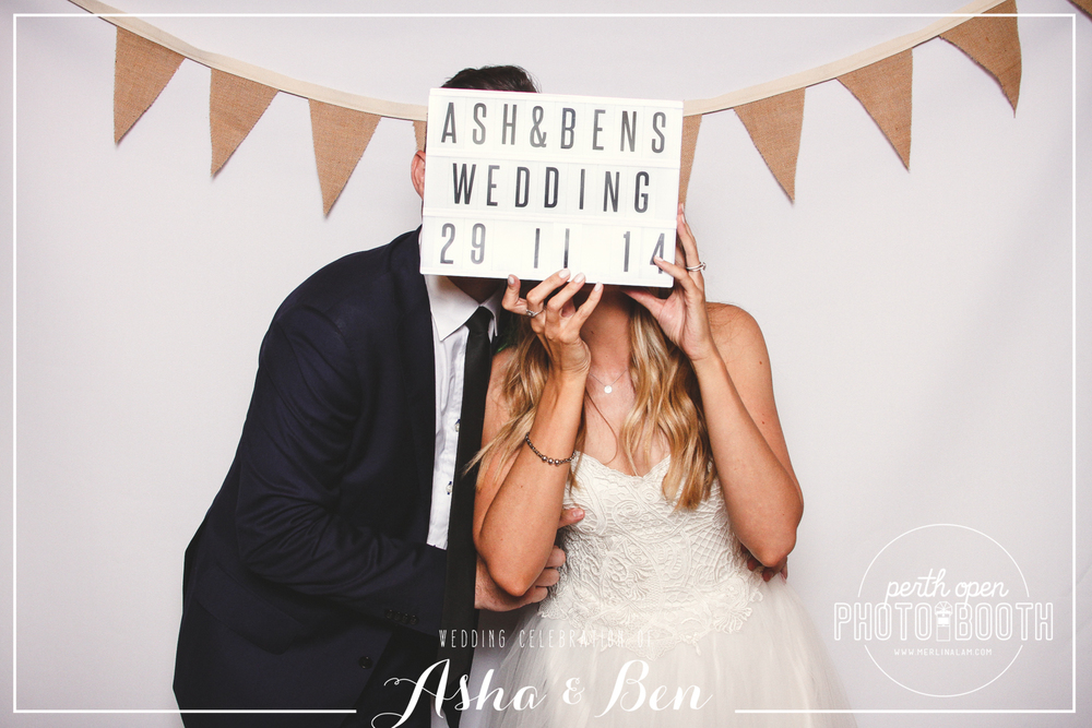 Asha & Ben's  Wedding Reception   Password: Provided on the night   - all lowercase -