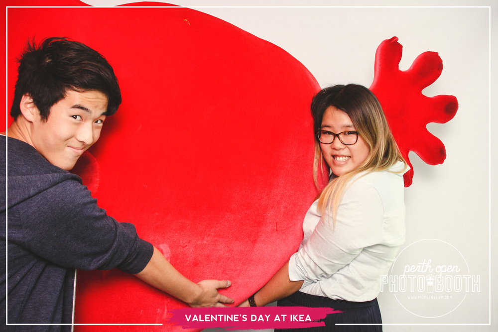 Valentine's Day at IKEA Perth Password: Provided on the day - all lowercase -