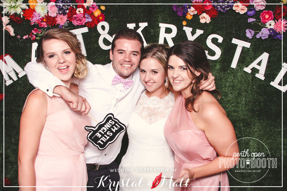 Matt & Krystal's Wedding Reception   Password: Provided on the night   - all lowercase -