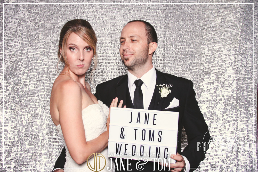 Jane & Tom's Wedding Reception   Password: Provided on the night   - all lowercase -