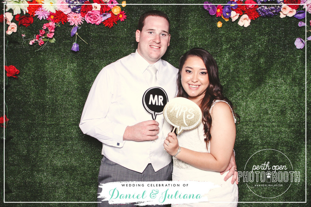 Daniel & Juliana's Wedding Reception   Password: Provided on the night   - all lowercase -