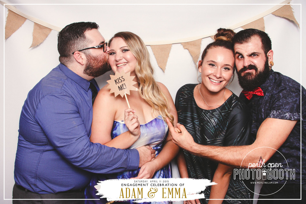 Adam & Emma's Engagement Party  Password: Provided on Adam & Emma's event page   - all lowercase -