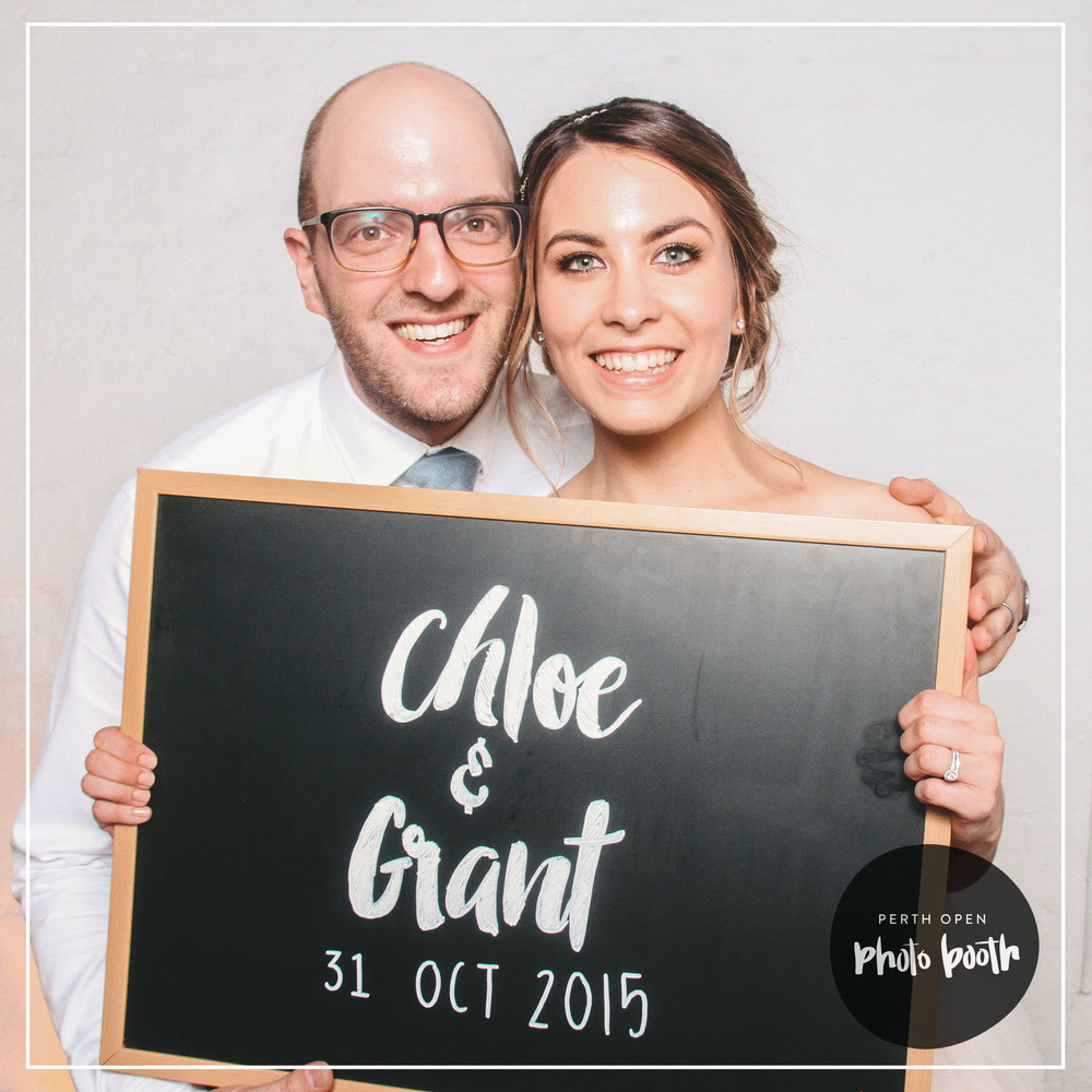 Chloe & Grant's Wedding Reception   Password: Provided on the night   - all lowercase -