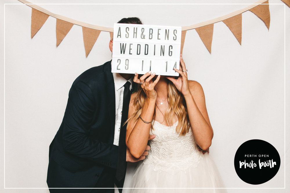 Backdrop No. 3 - White with Hessian Garlands