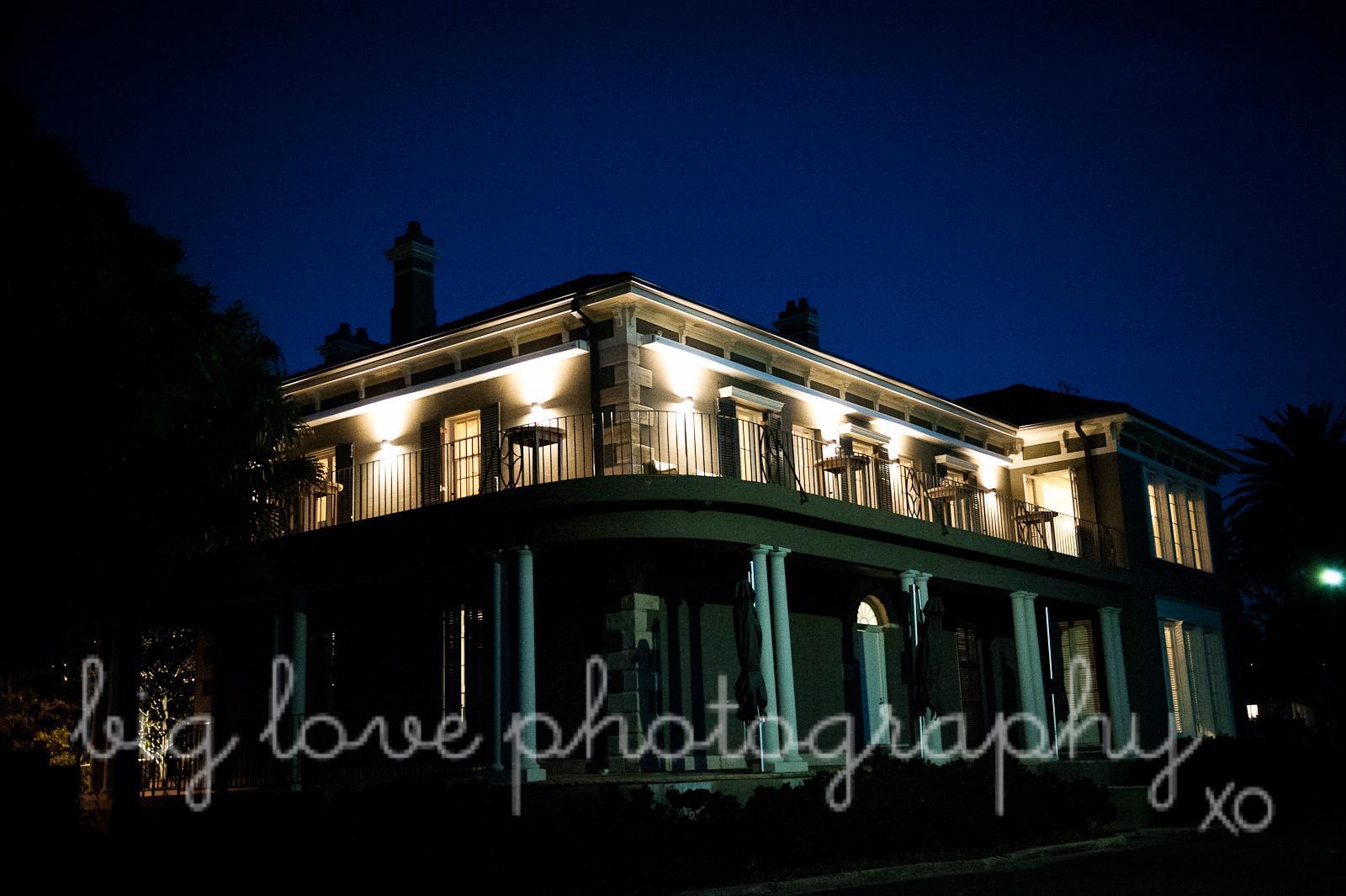 dunbar house wedding, watson's bay, sydney