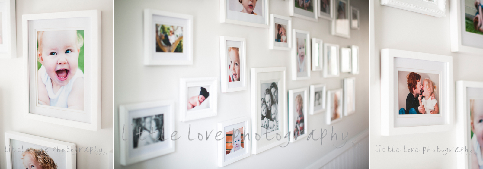 beautiful-images-of-bright-happy-fun-family-photos-displayed-in-client's-house-by-little-love-photography