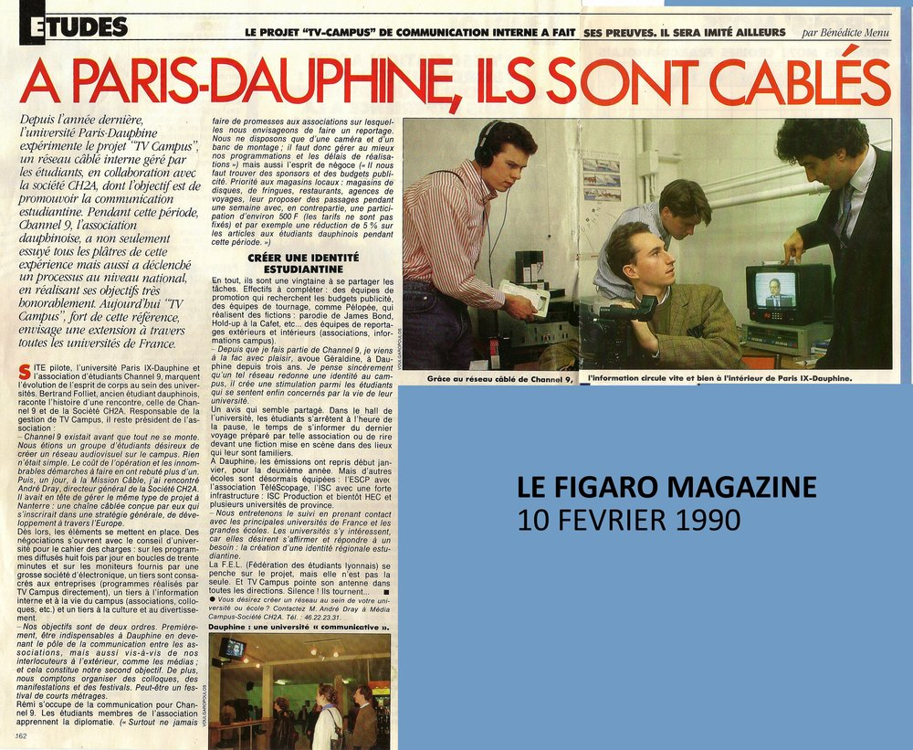 Channel 9 - 1988 - Archives - Association télévision