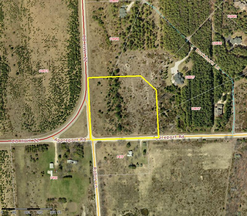 4.8 Acres Appleport Rd. Sister Bay, WI 54234 $44,900.