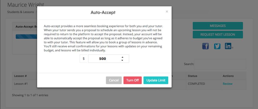 Auto-accept