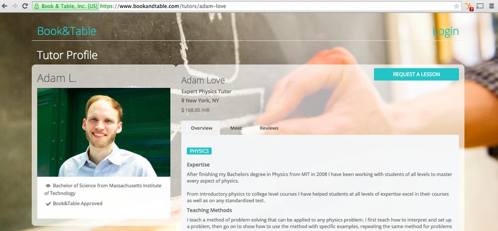 Profiles & URLs
