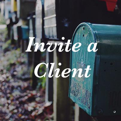 Invite a Client