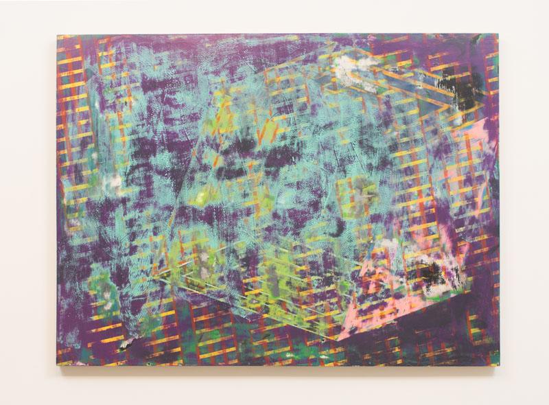 Danny Sullivan, Cibur, mixed media, 48x 36