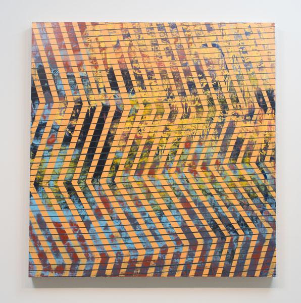 Danny Sullivan, Yars, mixed media, 45x46 3/4