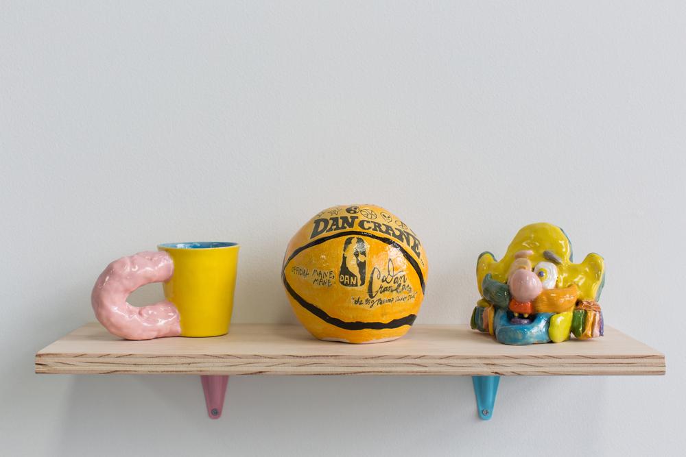 Dan Crane, Mug and Basketball and Capitan Crunch