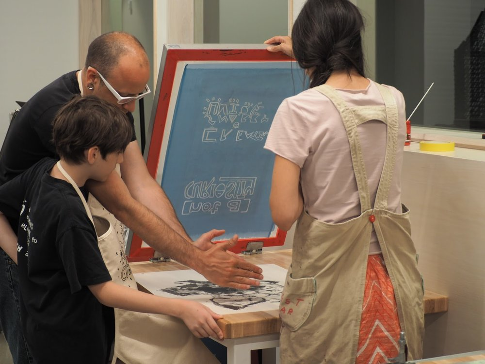 Screenprinting Together Workshop