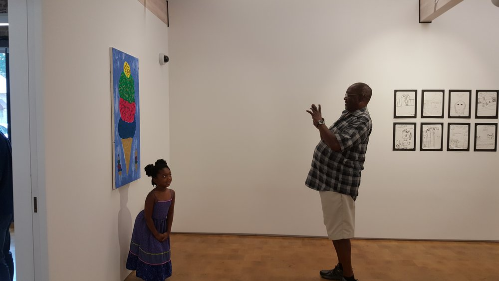 Site Work: Summer Arts Program Exhibition