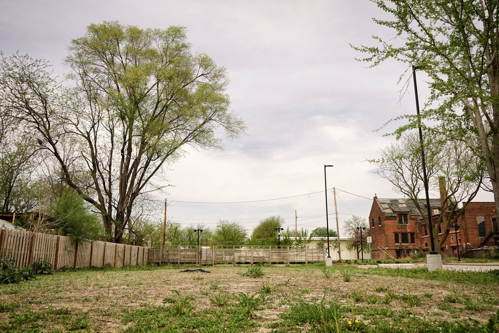 Future site of The Union Abundance Garden at 2220 Willis Ave.