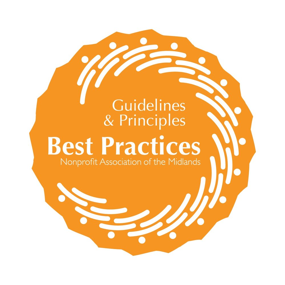 NAM Best Practices Partnership - The Nonprofit Association of the Midlands' Guidelines and Principles provide legal compliance and best practices information in 12 major areas of nonprofit management: Communication, Evaluation, Financial Management, Fundraising, Governance, Human Resources, Information Technology, Planning, Public Policy & Advocacy, Strategic Alliances, Transparency & Accountability, and Volunteer Management.The Union is proud to be recognized as an NAM Best Practices Partner!