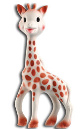 BPA-Free, Natural Rubber Sophie the Giraffe Teething Toy by Vulli.jpg