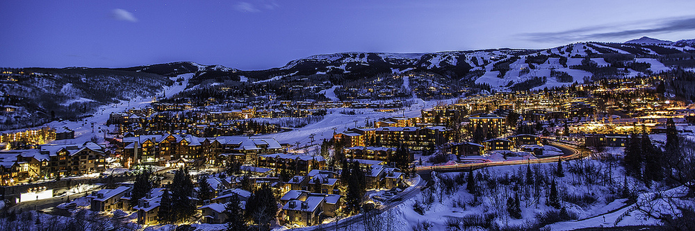 Snowmass Village Sunset  - Colorado
