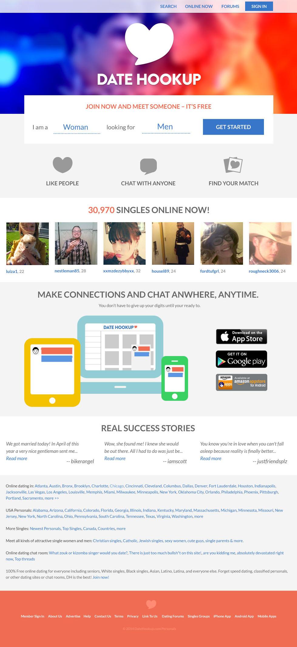 dh hookup hvisker en dating app