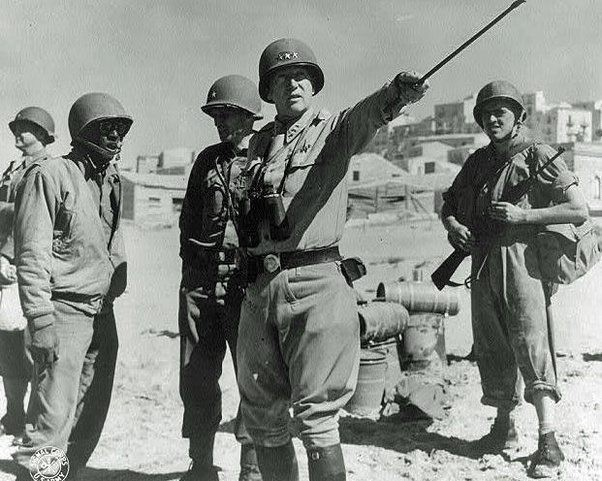 "General Patton centralized command with himself. How would you compete with ""Bandito?"""