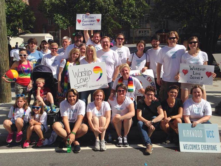 Pride Parade with Kirkwood UCC