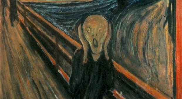 The Scream by Edvard Munch.