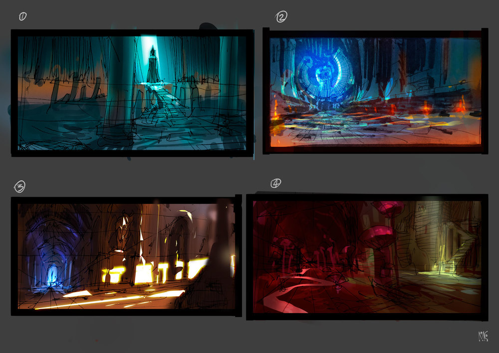 Dungeon thumbnails