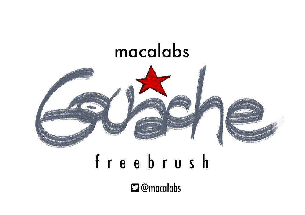 MACALABS_Gouache brush for Photoshop