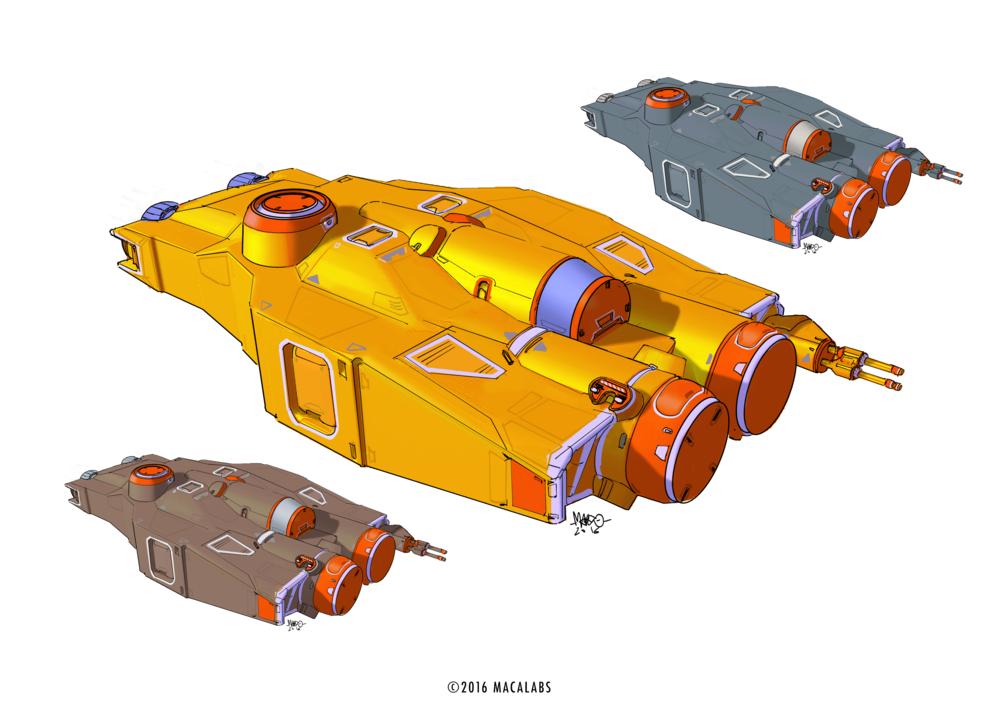 HW Spaceship