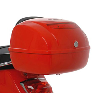 Vespa Top Box (requires additionalrack) - Click Image for part numbers.