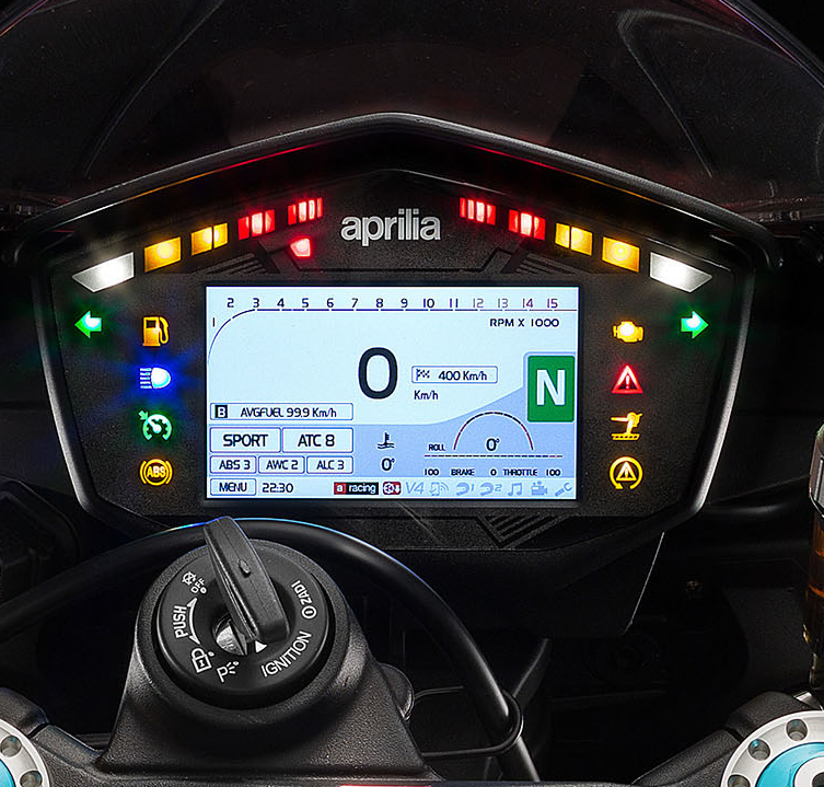 The dashboard shows APRC settings at a glance.