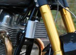 Norton Motorcycles Aluminum Oil Cooler