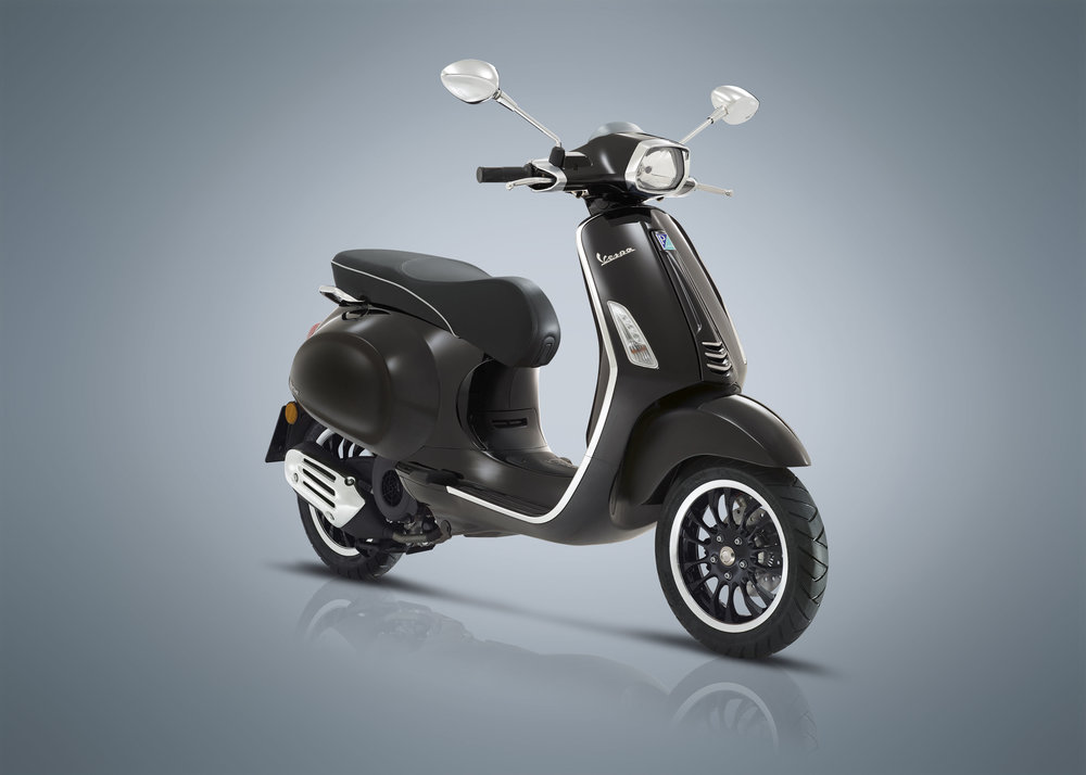 2017 Vespa Sprint 50 (Black) — AF1 RACING