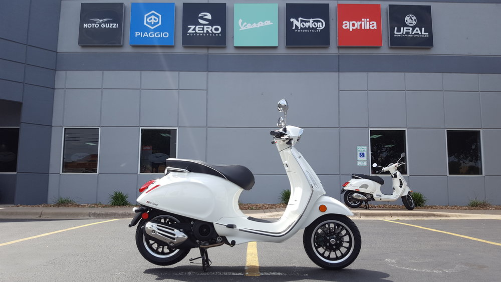 2018 Vespa Sprint 150 (White) — AF1 RACING