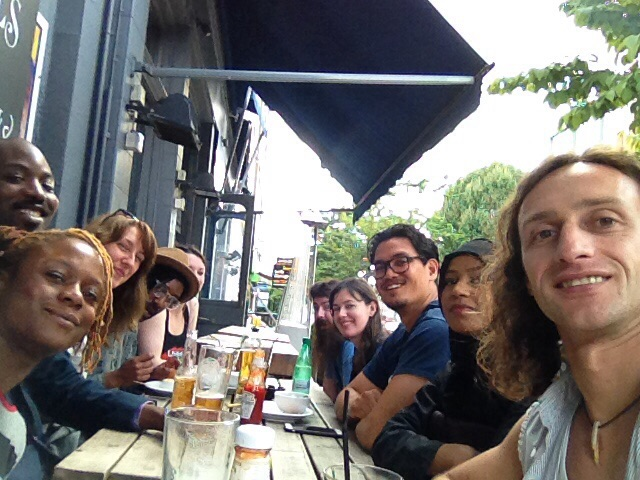 Expressive Collective Gang. Drinks on last day