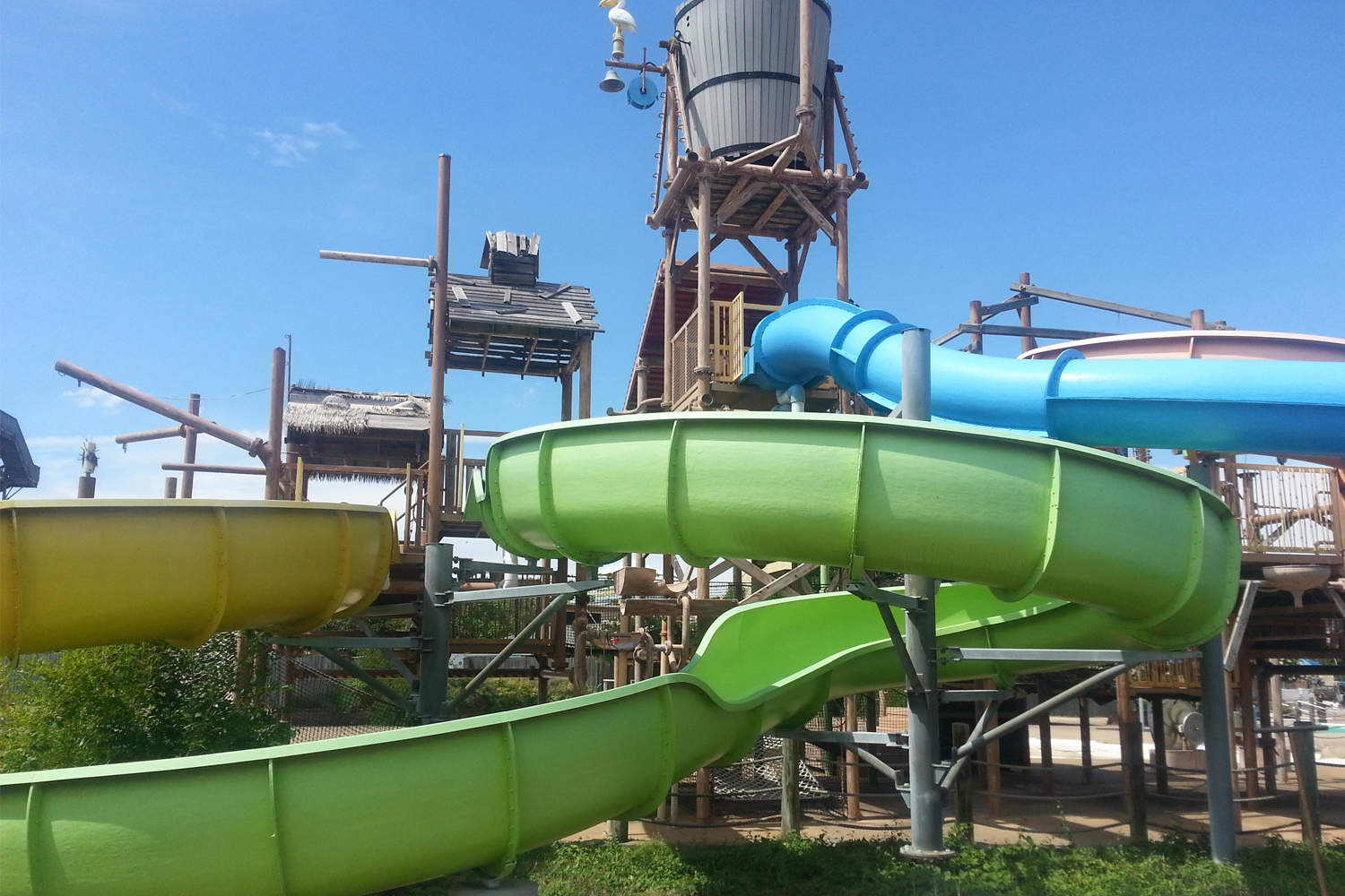 recycled commerical water slides for sale fix my slide