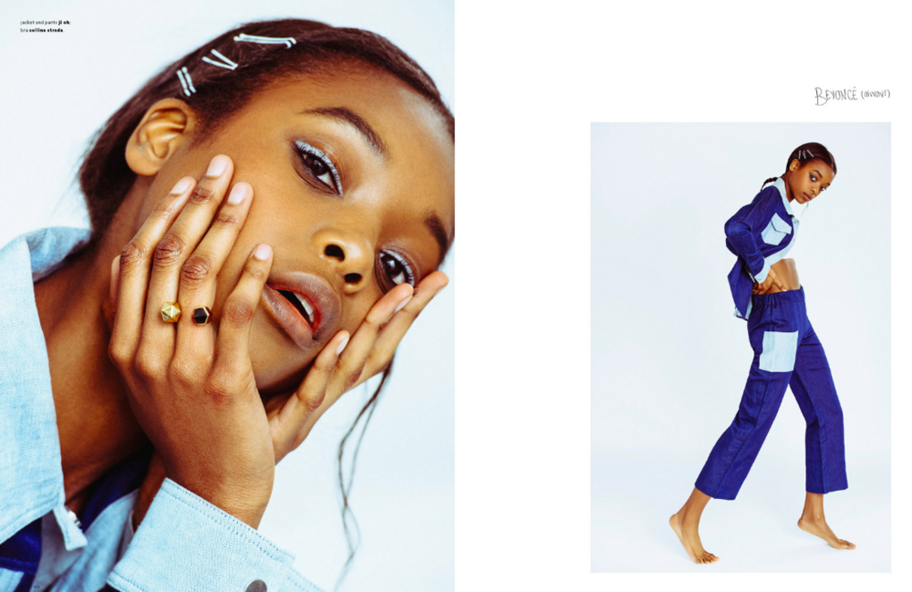 Ones To Watch: Olivia Anakwe at NYMM | Photographed by Tiffany Nicholson