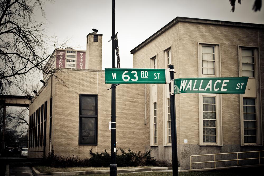 Former site of Holmes' drug store
