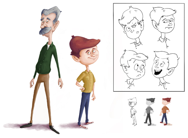 Pablo Characters