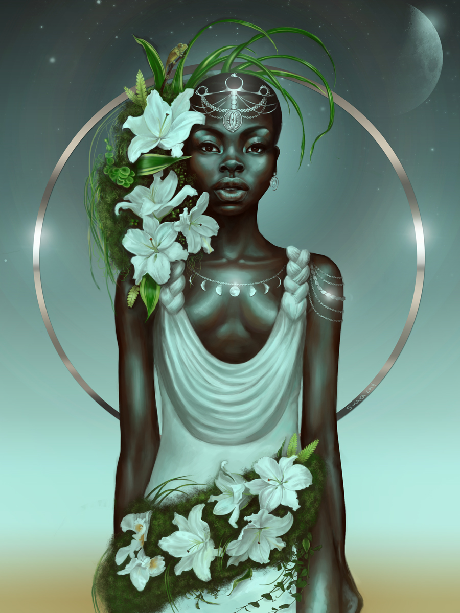 """Virgo"" by Sheeba Maya, sheebamaya.com"