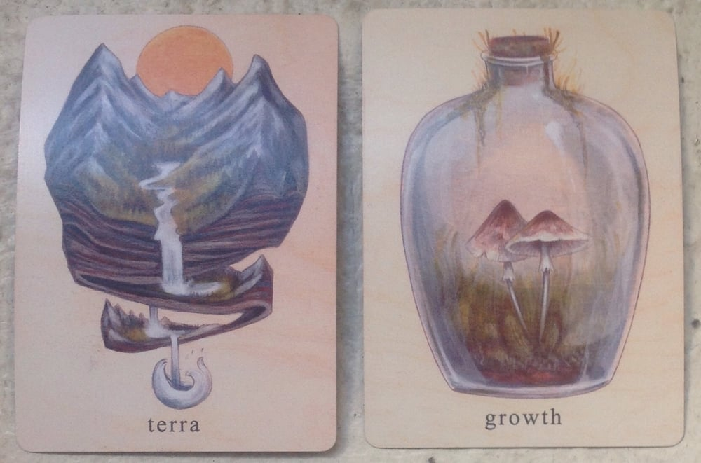 From the Earthbound Oracle deck.