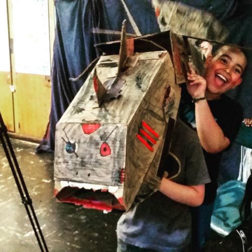 Puppets on Camera Kids Camp| 2016