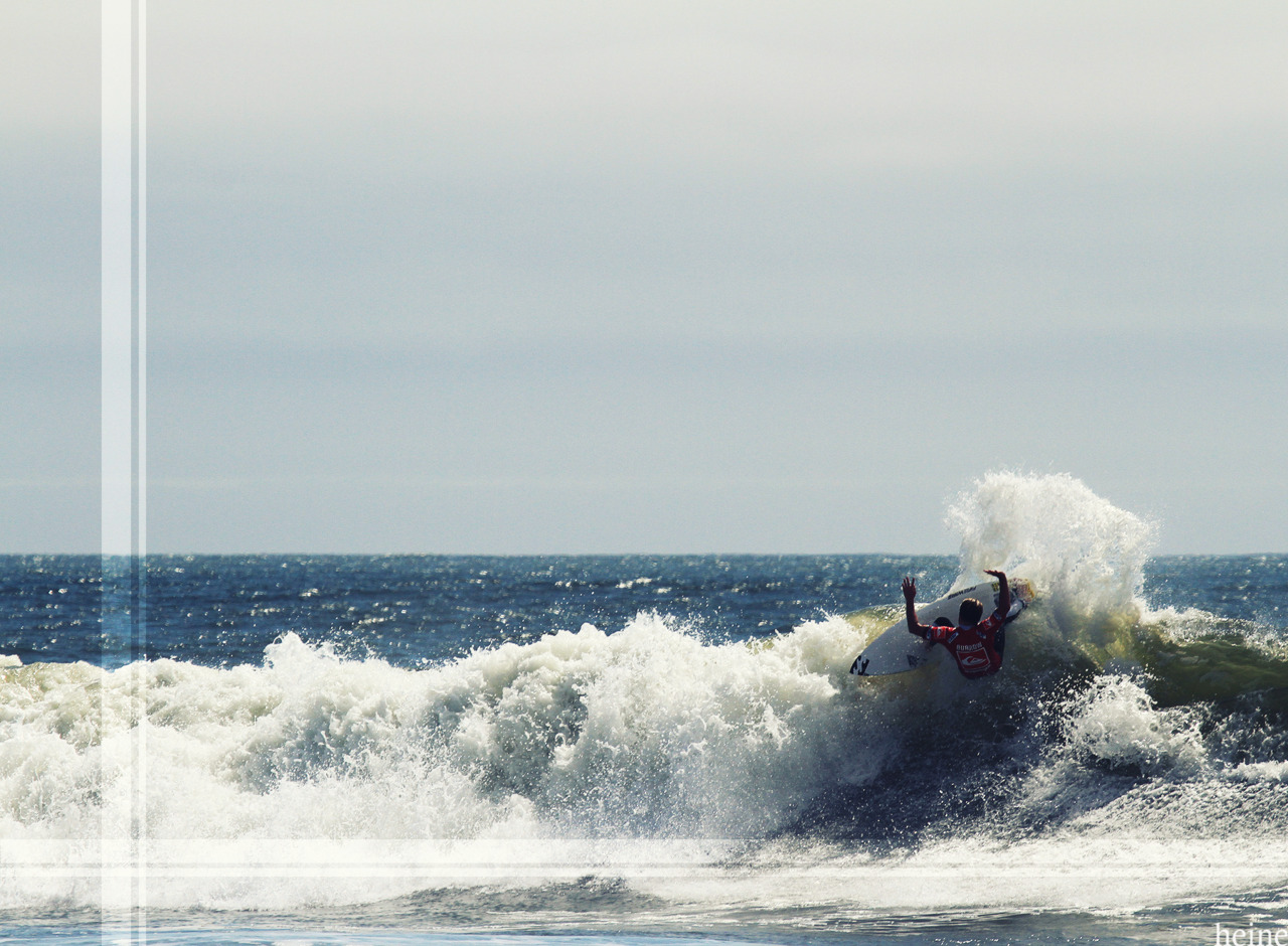 Taj Burrow. New York. September 2011 at the Quiksilver Pro NY. Can't wait for next year.